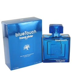 Blue Touch  3.4 oz Cologne By Franck Olivier for Men from Kenya's Boutique for $23.95