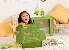 Kiwi Crates - monthly craft projects for kids to make sent to your house. Fun!