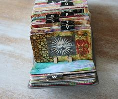 I started my Rolodex art project.  Check out Patty's to get some ideas for your own. :)