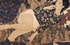 Born In 1965 Artist Ikenaga Yasunaris Serene And Soothing Portraits Of Modern Women Evoke A