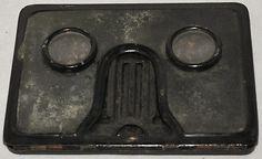 Vintage Metal Pocket Folding Stereo Viewer