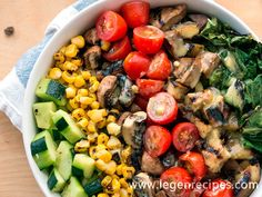 Vegan Bowl Attack! Grilled Romaine Chop Salad If you have never tried grilling greens before, you are missing out on one of my favorite ways to…