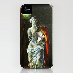 Dream of Venus iPhone Case by Vargamari - $35.00 - encaustic painting