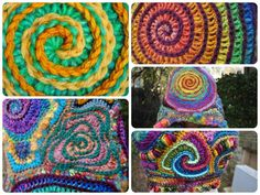 (4) Name: 'Crocheting : Spiral File
