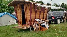 Insulated Gypsy wagon tiny house Witcher #6SCA Renaissance$7500