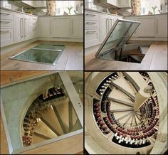 A Wine Cellar Trap Door | 36 Things You Obviously Need In Your New Home