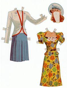 Recortables. Paper dolls 1 - Yakira Chandrani - Álbumes web de Picasa