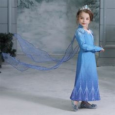 Halloween Costume For Kids Girl 4 8 10 Years Cosplay Clothes Party Dress Princess Dresses For Girls Anna Elsa Birthday Dress Up - Kids costumes Frozen Birthday Dress, Frozen Dress, Elsa Dress, Birthday Dresses, Dress Up, Elsa Birthday, Elsa Frozen, Buy Halloween Costumes, Girl Costumes