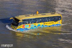 RiverRide, The Floating Bus - Budapest, Hungary