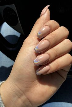 Multi Chrome Acrylic Mirror Effect Nail Design Ideas to make you Look really sex. - Nail Design Ideas, Gallery of Best Nail Designs May Nails, Hair And Nails, Cute Acrylic Nails, Acrylic Nail Designs, Acrylic Nails Chrome, Chrome Nails Designs, Fingernail Designs, Faux Ongles Gel, Crome Nails