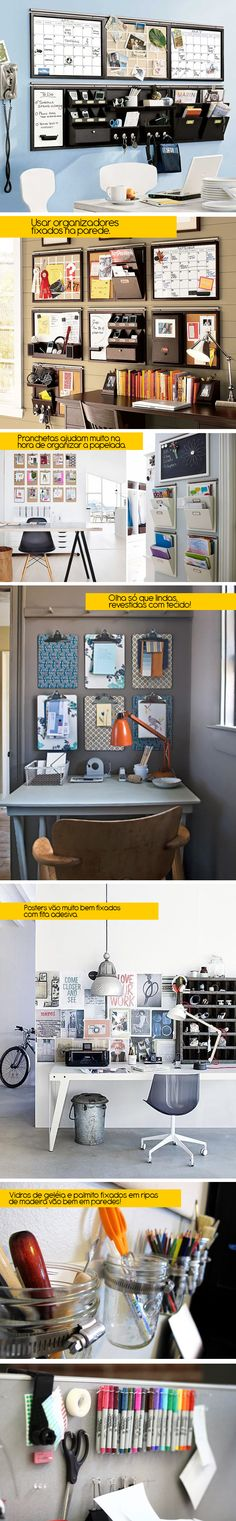 Love the idea of using the wall vs the desk top