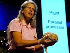 "dr jill bolte taylor:   ""the brain extravaganza""   so interesting!"