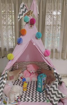 Play Tents, Kids Tents, Teepee Kids, Teepee Tent, Teepees, Viking Tent, Shark Pillow, House Tent, Pink Crown