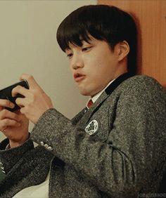 ᴀʟʟ ɪ sᴇᴇ ɪs ʏᴏᴜ Kaisoo, Kyungsoo, Chanyeol, Harsh Words, Games To Play, Playing Games, Kim Jong In, Exo Kai, Tsundere