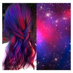 Purple hair color, crazy hair colour, hair color tips, fun hair Galaxy Hair Color, Coloured Hair, Dye My Hair, Mermaid Hair, Cool Hair Color, Crazy Hair Colour, Exotic Hair Color, Purple Hair, Red Purple
