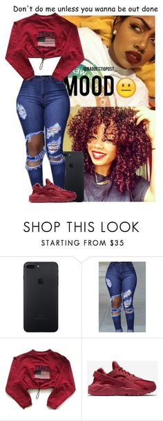Untitled #169 by hellacurlz2000 on Polyvore featuring Chaps and NIKE