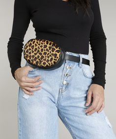 Stylish Fanny Pack, Rock In Rio, Fashion, Jean Bag, Stamping, Ladies Bags, How To Dress Cool, Black, Beleza