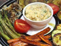 Receta Parrillada de verduras con pur� especiado, para Dviciobarcelona - Petitchef