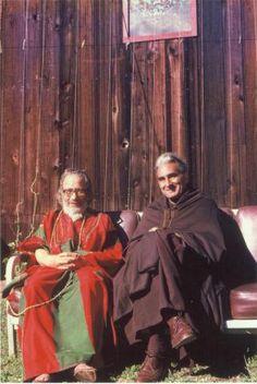 Murshid Samuel Lewis and Pir Vilayat Khan
