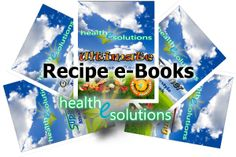 HeS Recipe e-Books - with 5 recipes ebooks from which to choose, Health-e-Solutions offers a wide variety of very low-glycemic foods for every meal and every occasion. These recipes will keep blood sugars in a much more controllable range for people with diabetes!