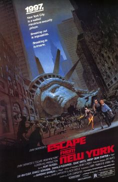 Escape from New York, one of the greats. Escape from new York poster.