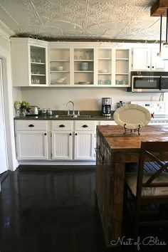 Kitchen Renovation Makeover Progress   Before And After! Budget Kitchen  Makeovers, Mobile Home Makeovers