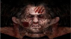 Zombie Face Texture   Zombie-Face-Texture-2.jpg print and put in a jar - face in a jar