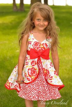 Sewing For Kids Clothes Kinley's Cascading Flounce Top Sewing Kids Clothes, Sewing For Kids, Baby Sewing, Diy Clothes, Pdf Sewing Patterns, Clothing Patterns, Dress Patterns, Sewing Ideas, Toddler Dress