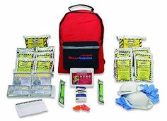 Buy 2 Person 72 Hour Emergency Survival Disaster Home Car First Aid Kit Backpack Bag at online store