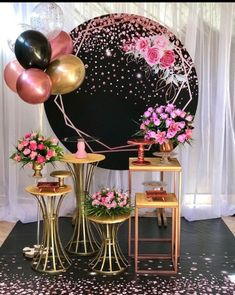 15th Birthday Decorations, Drip Cakes, Table, Backdrops, Baby Shower, King, Ceiling Lights, Random, Ideas