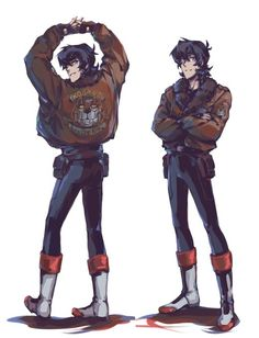 Yeah give Keith a simular jacket to Nico's, that would help keeping them apart Kuch kuch sarcasm
