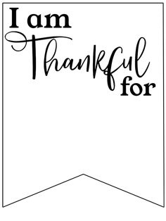 I am Thankful for Printable Banner – Paper Trail Design I am Thankful for Printable Banner. I am grateful actvity for church class. Thanksgiving Banner, Thanksgiving Projects, Thanksgiving Quotes, Thanksgiving 2020, Thanksgiving Classroom Activities, Holiday Activities, Classroom Ideas, Printable Banner, Free Printable