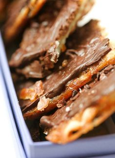 The most amazing recipe for Chocolate-covered Matzoh Crunch, a delicious treat - no matter what time of year!