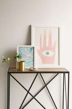 """The BEST Pieces From Urban Outfitters' Super Affordable Home Line #refinery29  http://www.refinery29.com/2016/04/108918/urban-outfitters-home#slide-2  Hamburg-based illustrator Barbara Dziadosz made this print as a present for her mom. Maybe that's why it's giving us the warm fuzzies?Barbara Dziadosz Lucky Five Art Print, $39, available at <a href=""""http://www.urbanoutfitters.com/urban/catalog/produc..."""