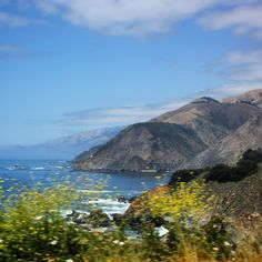 Driving along California's Pacific Coast Highway with kids - one of the many stunning viewpoins along Highway 1