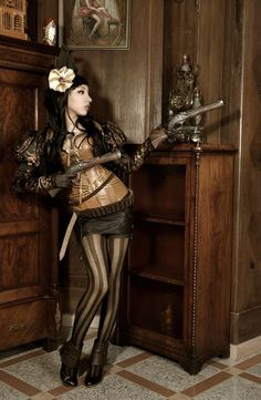 SteamPunk Girl - Steampunk Girl