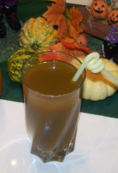 Pumpkin Juice!  I've used this recipe a few times and it's always gotten great reviews from party-goers!