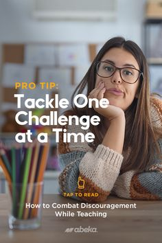 """On those days when your 110% doesn't feel like enough, we're here to let you know that it's okay and we understand how quickly it can become discouraging. If it's happening to you too often, consider reading our """"How to Combat Discouragement While Teaching"""" blog. Review a few tips and suggestions here. Christian School, Knowing You, Encouragement, Challenges, Teacher, Shit Happens, Feelings, Reading, Tips"""