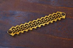 Items similar to Leather Bracelet, Leather Cuff, Jewelry, Ladies Leather Bracelets, Yellow Leather on Etsy Leather Bracelets, Leather Cuffs, Leather Jewelry, Cuff Bracelets, Yellow Leather, Laser Cutting, Bag Accessories, Jewellery, Lady