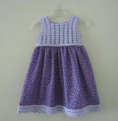 """Discover thousands of images about Çapulcu Ayyaş Özlem Saltık [ """"Discover thousands of images about Hand knitted dress for baby girl"""" ] # # # # # # # # # # Crochet Dress Girl, Crochet Girls, Crochet Baby Clothes, Crochet For Kids, Knit Dress, Crochet Yoke, Crochet Fabric, Little Girl Dresses, Girls Dresses"""