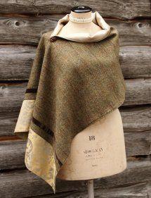 Harriet Hoot Bespoke Harris Tweed Luxury Wrap