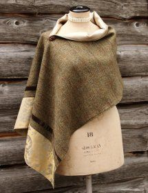Harriet Hoot Bespoke Harris Tweed Luxury Wrap