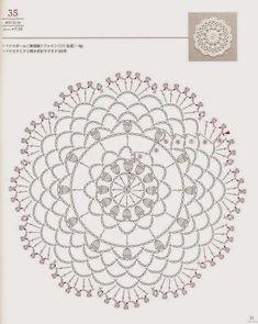 PATRONES GRATIS DE CROCHET: Patrón de un lindo bolso con aplique a crochet