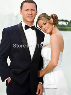 2016 Fashion men Suits New Year Hote sale tuxedos men's dress one button Shawl collar Color butyl process groom wedding suit