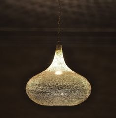 Moroccan style Pendant Lighting from ekenoz.com, available in silver, gold, or black oxodized - $229