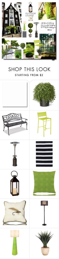 """Autumn Nights"" by sue-mes ❤ liked on Polyvore featuring interior, interiors, interior design, home, home decor, interior decorating, National Tree Company, Thos. Baker, Fermob and Frontgate"