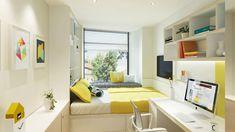 Výsledek obrázku pro how to furnish 6 square meters bedroom for college student