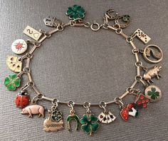 6784 Best Vintage Charm Bracelets And Charms Images On Pinterest
