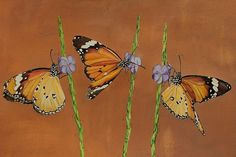 Live Like A Butterfly Painting Painting