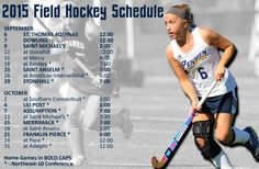 FIELD HOCKEY OPENS WITH STAC SEPTEMBER 6 In the second season of its return, field hockey opens the 2015 season at home against St. Thomas Aquinas College on Sunday, September 6.
